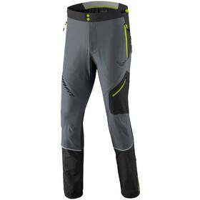 Dynafit Transalper Dyna-Stretch Pantalones Hombre, gris/negro